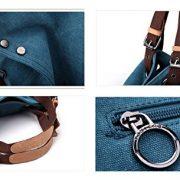 Kaylena-Womens-Water-Resistant-Khaki-Canvas-Shoulder-Bag2way-0-4